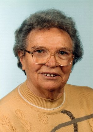 Portrait von Irmgard Schurr