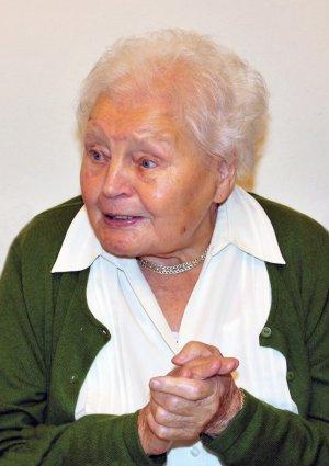 Portrait von Margarete Schmitt